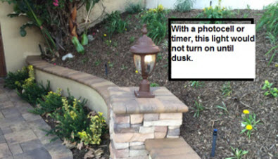 Automatic Outdoor Lights Photocells And Timers