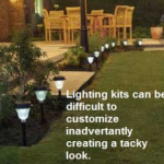 Garden Lighting Kits-Pros & Cons